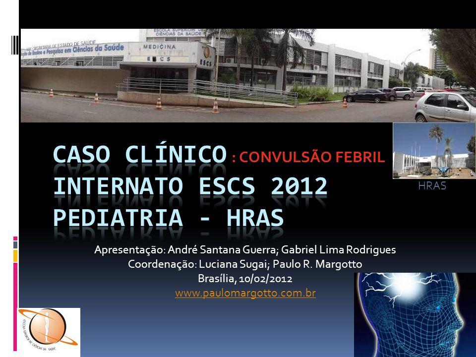 Apresentação: André Santana Guerra; Gabriel Lima Rodrigues Coordenação: Luciana Sugai; Paulo R. Margotto Brasília, 10/02/2012 www.paulomargotto.com.br