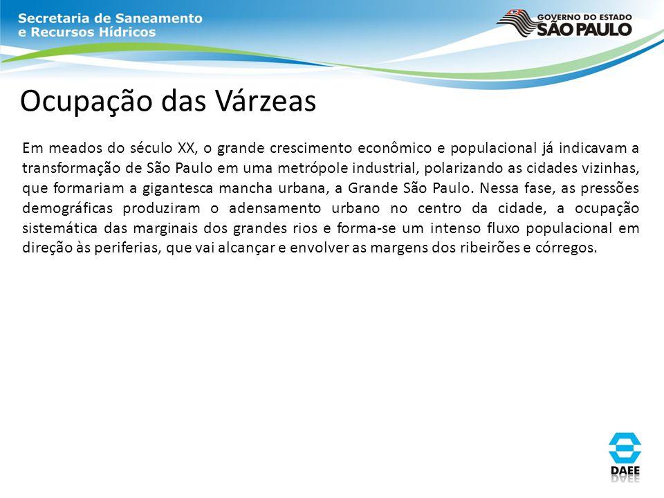 Em meados do século XX, o grande crescimento econômico e populacional já indicavam a transformação de São Paulo em uma metrópole industrial, polarizan