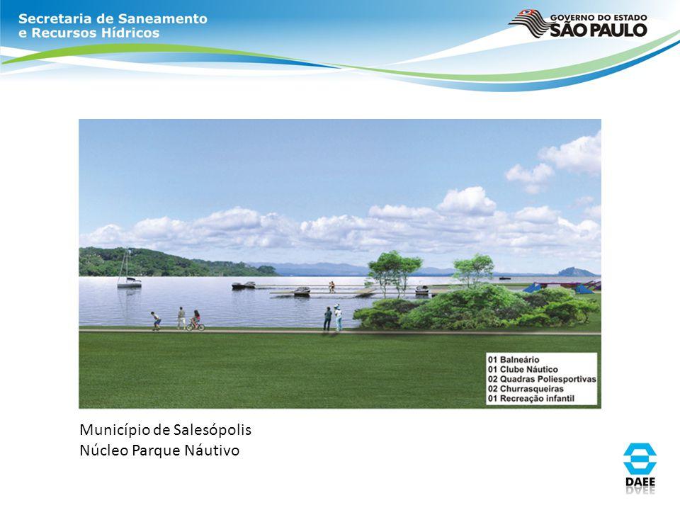 Município de Salesópolis Núcleo Parque Náutivo
