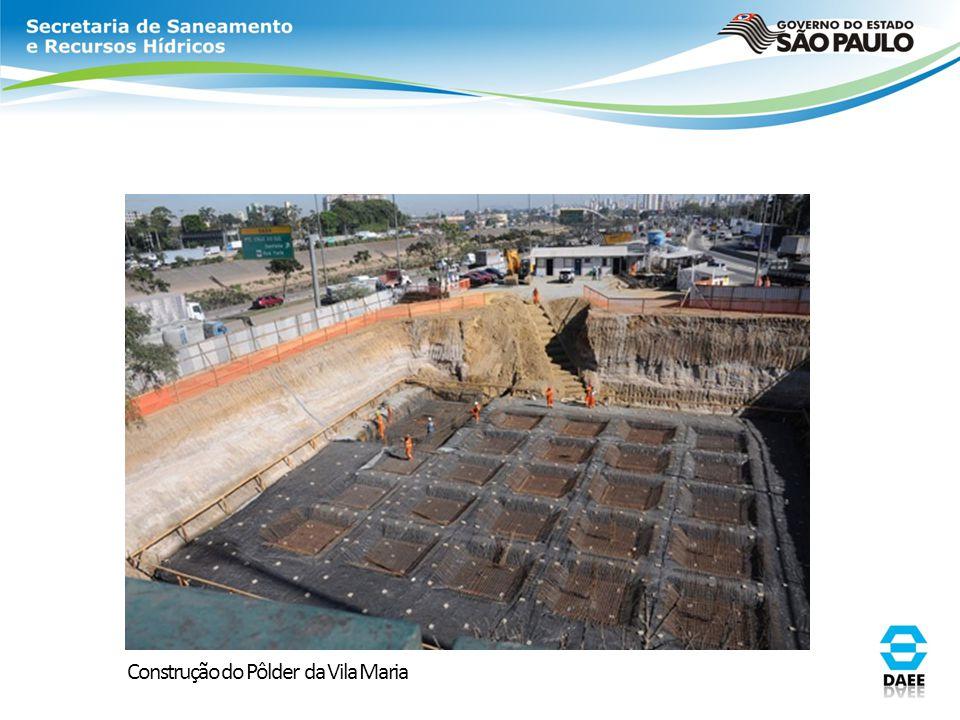 Construção do Pôlder da Vila Maria
