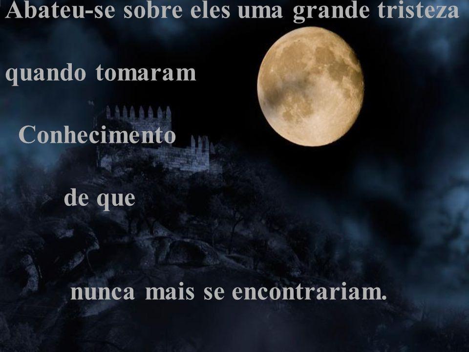 Ficou decidido também que o Sol iluminaria o dia e que a Lua iluminaria a noite, sendo assim, seriam obrigados a viverem separados.