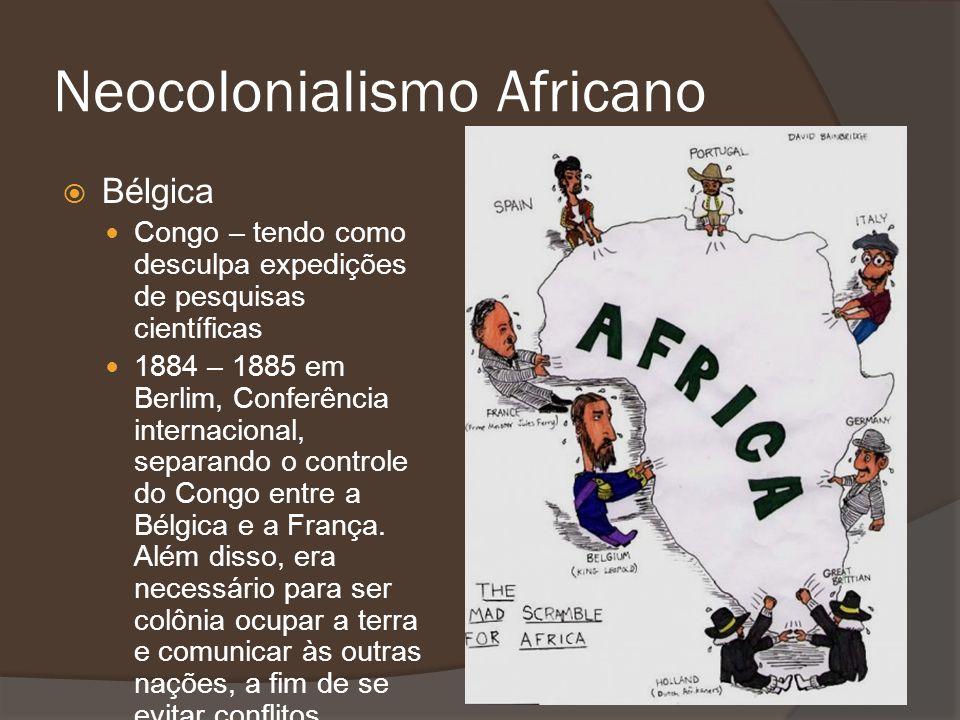 Bélgica Congo – tendo como desculpa expedições de pesquisas científicas 1884 – 1885 em Berlim, Conferência internacional, separando o controle do Cong