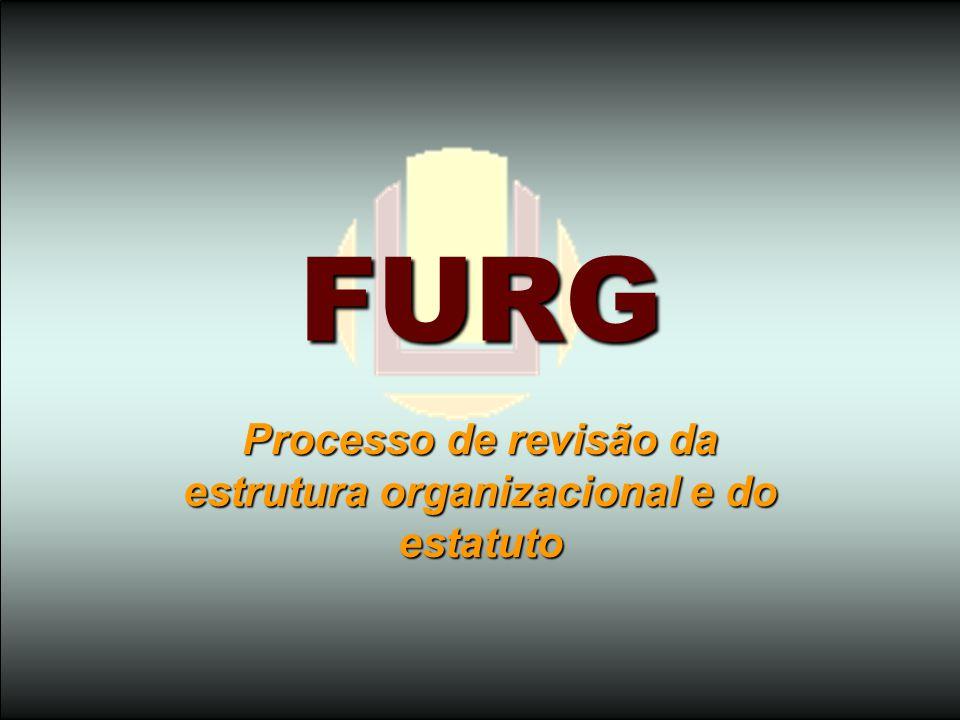 FURG Processo de revisão da estrutura organizacional e do estatuto