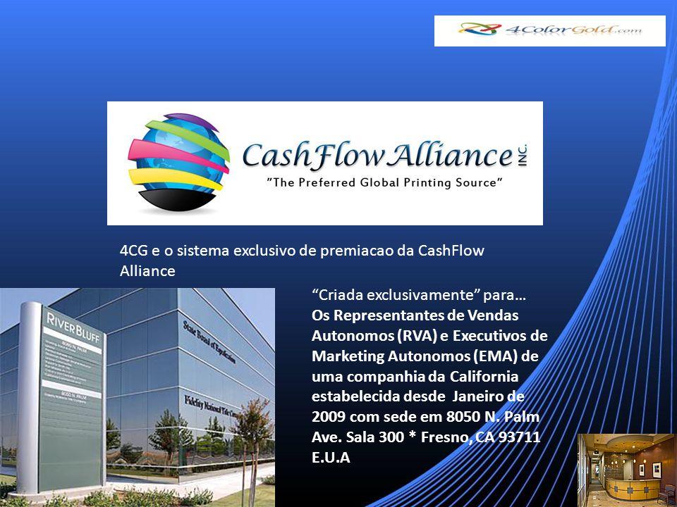 Criada exclusivamente para… Os Representantes de Vendas Autonomos (RVA) e Executivos de Marketing Autonomos (EMA) de uma companhia da California estabelecida desde Janeiro de 2009 com sede em 8050 N.