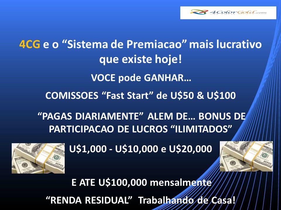 AVANCO DE POSICAO BONUS PARTICIPACAO DE LUCROS DA COMPANHIA PURE GOLD 4 PREMIOS PURE GOLD 4 PREMIOS FERIAS DE FAMILIA - U$4,000 EM DINHEIRO.