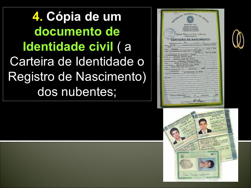 3. Declaração assinada pelos nubentes de que não estão atingidos por qualquer impedimento ou proibição canônica, que seja do conhecimento deles e que