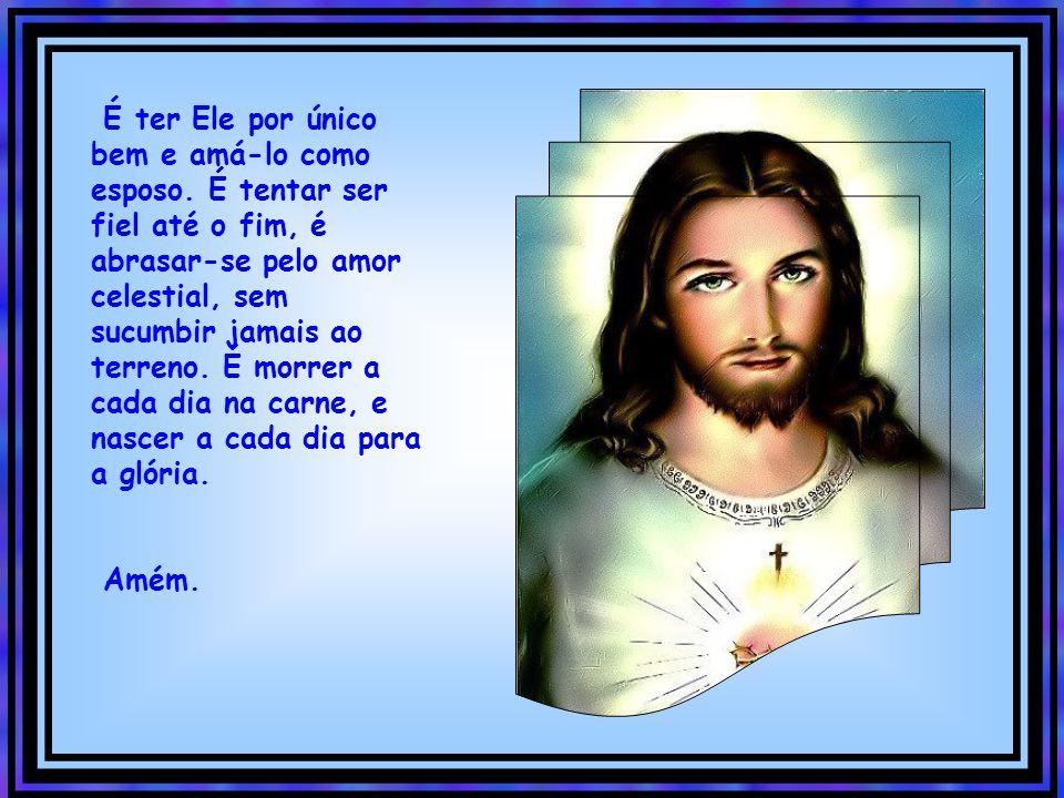 É alegrar-se com os santos, É aconchegar-se ao Coração de Jesus