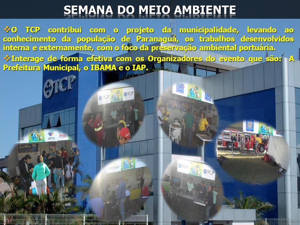 O TCP contribui com o projeto da municipalidade, levando ao conhecimento da população de Paranaguá, os trabalhos desenvolvidos interna e externamente,