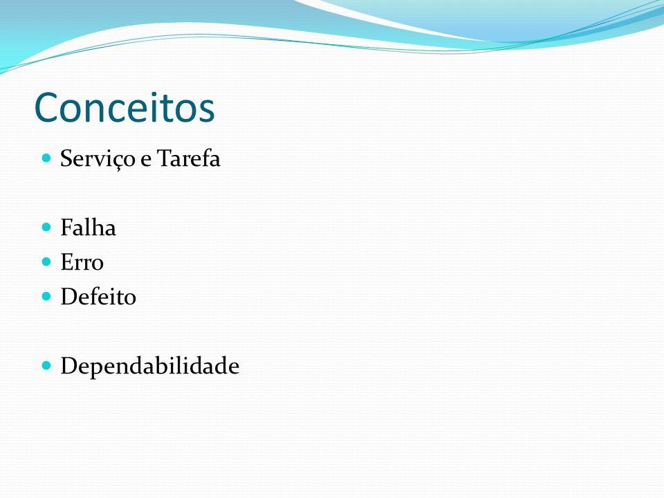 Serviço e Tarefa Serviços são funcionalidades oferecidas ao usuário.