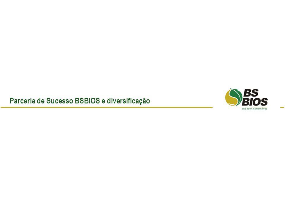 Parceria de Sucesso BSBIOS e diversificação