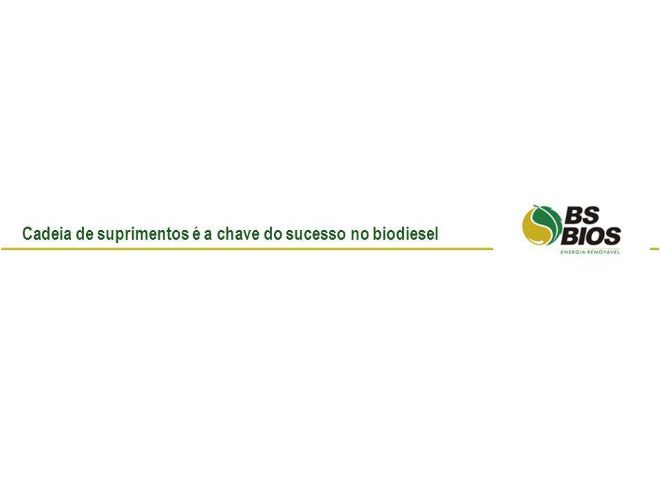 Cadeia de suprimentos é a chave do sucesso no biodiesel