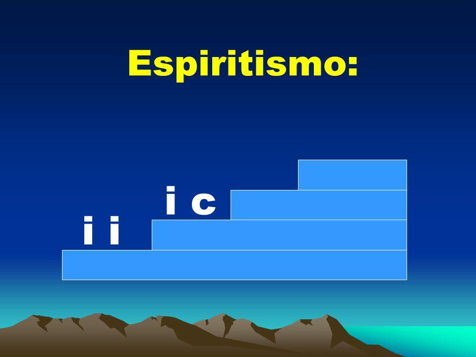 Espiritismo: i i c