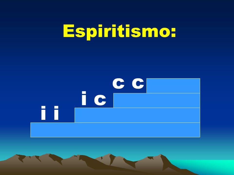 Espiritismo: i i c c