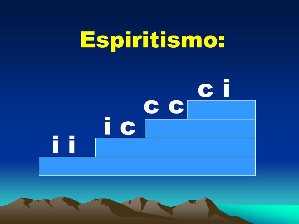 Espiritismo: i i c c c i