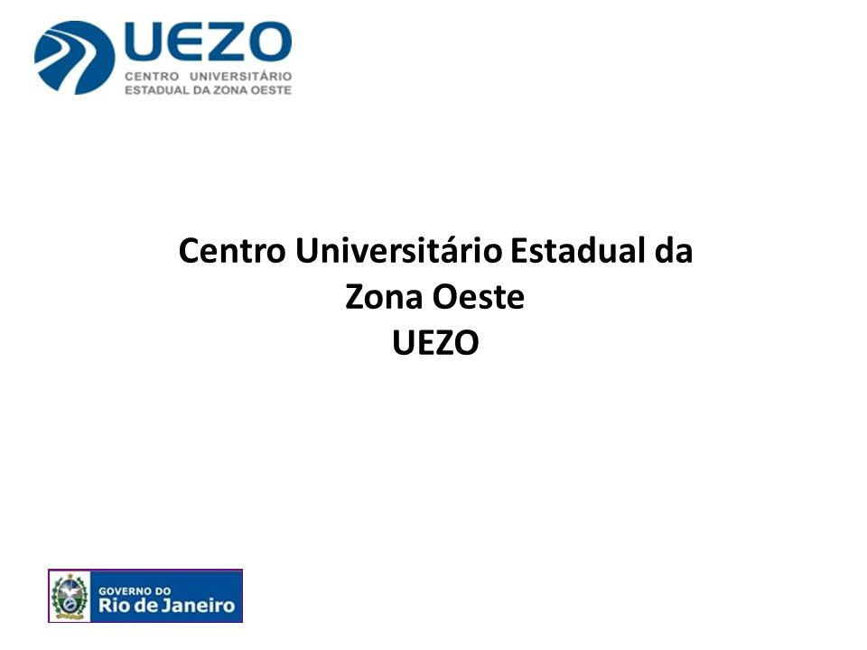 Centro Universitário Estadual da Zona Oeste UEZO