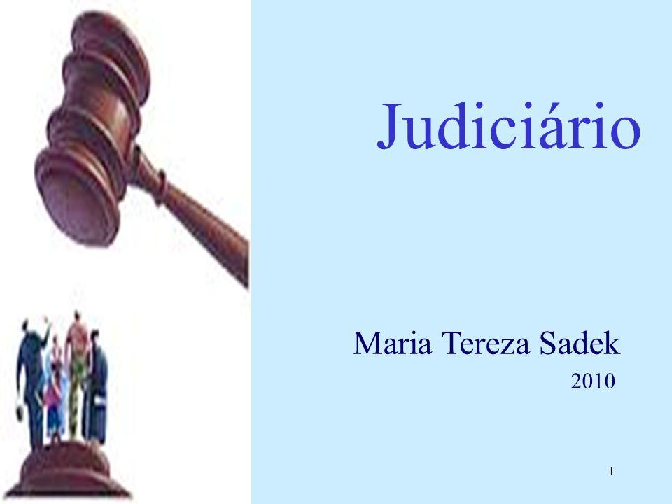 1 Judiciário Maria Tereza Sadek 2010