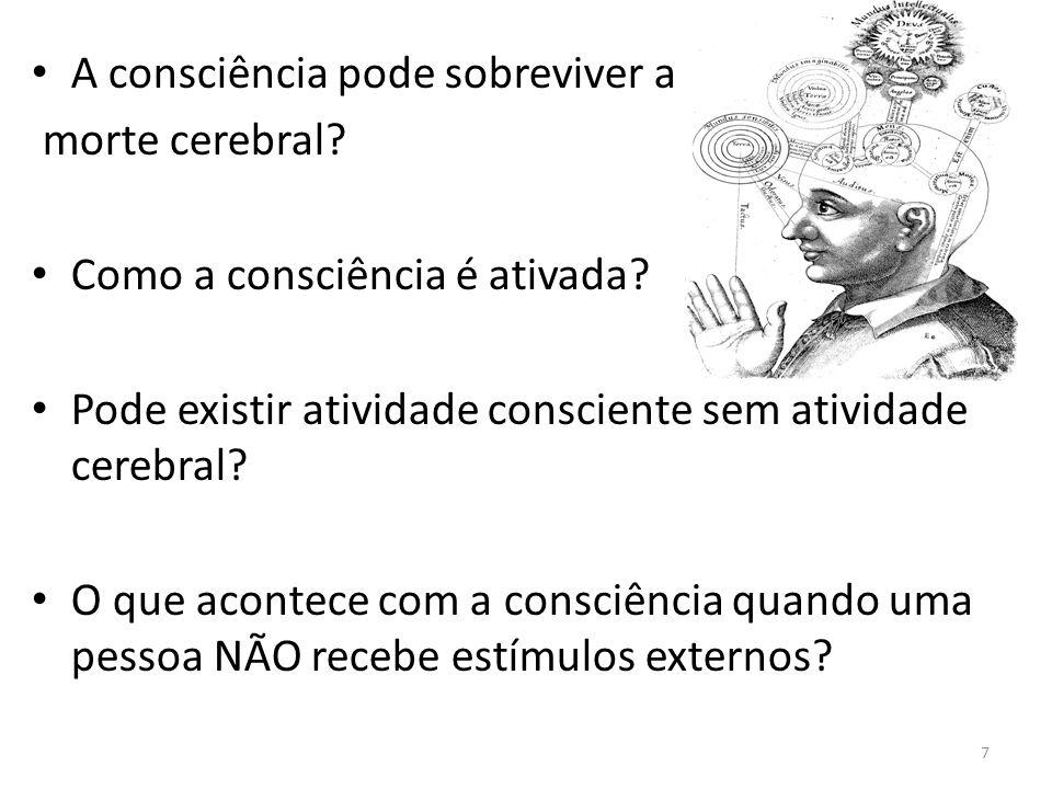 Alterações da Consciência Sono : é um comportamento e uma fase normal e necessária.