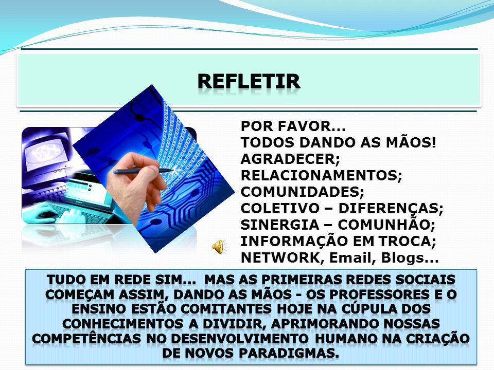 OS PROFESSORES E AS TECNOLOGIAS DA INFORMAÇÃO O CONTATO COM AS T.