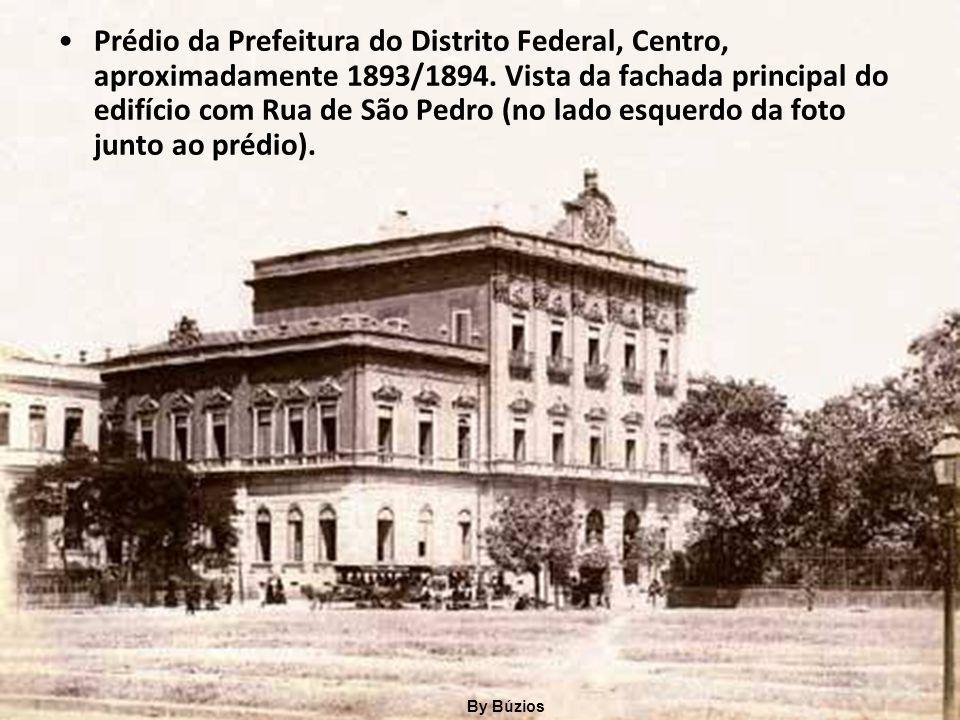 Avenida Epitácio Pessoa, Lagoa, na década de 1930. By Búzios