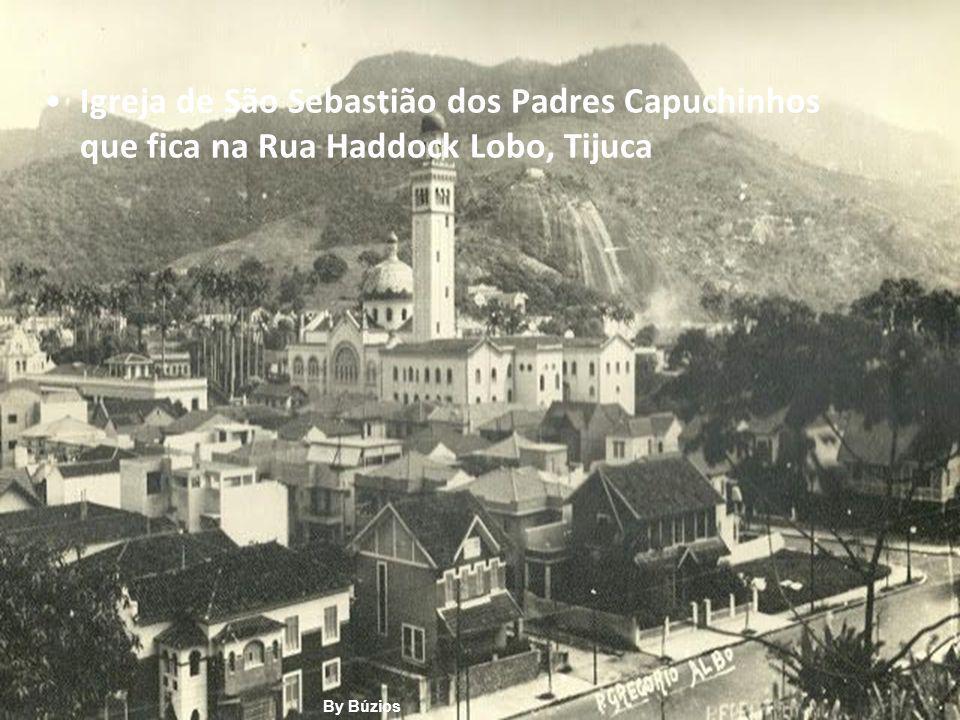Igreja de São Sebastião dos Padres Capuchinhos que fica na Rua Haddock Lobo, Tijuca By Búzios