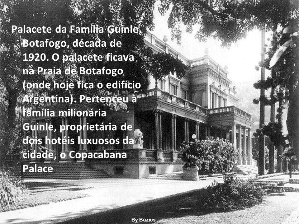 Palacete da Família Guinle, Botafogo, década de 1920.