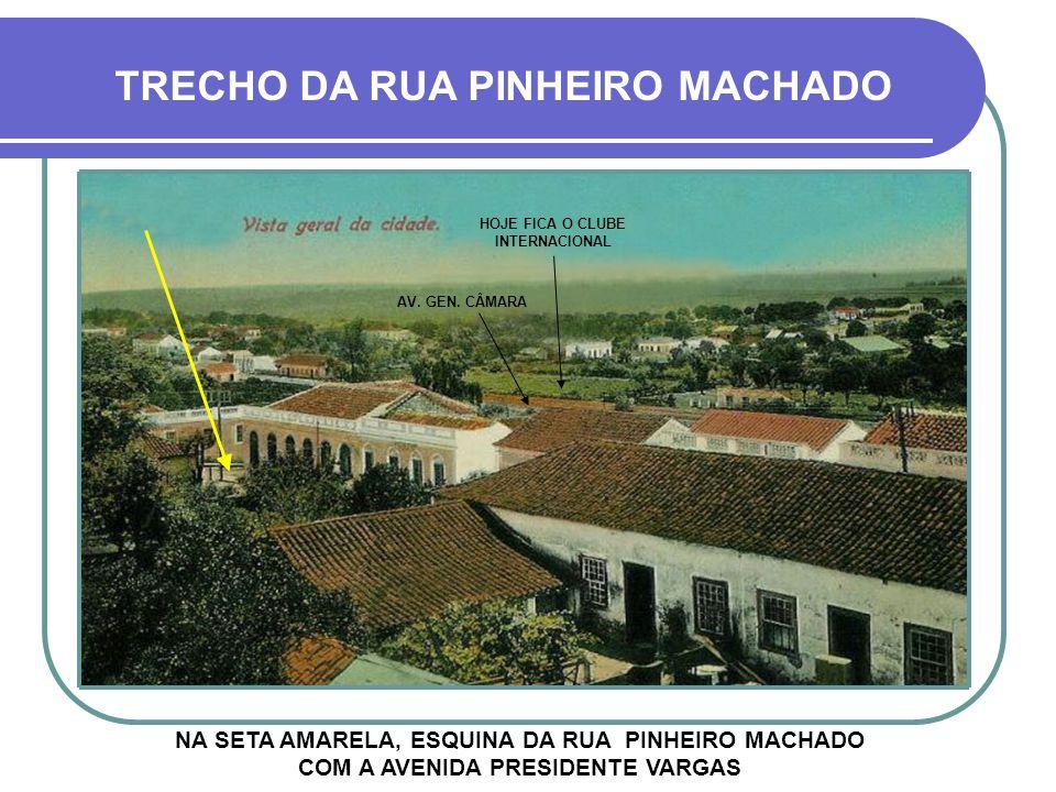 FOTO TIRADA DA LATERAL DO PRÉDIO DA PREFEITURA MUNICIPAL HOJE SESC RESIDENCIAL MINUANO