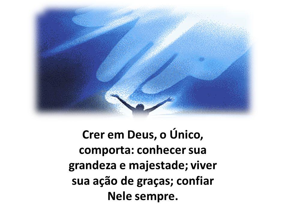 Jesus Cristo nos revela que Deus é Pai.