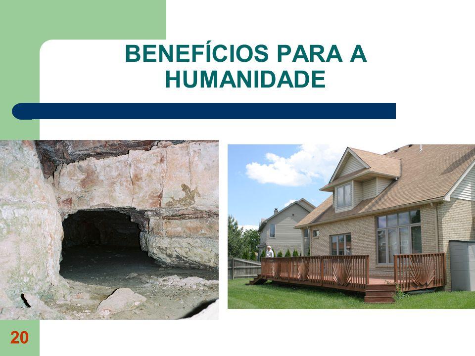 20 BENEFÍCIOS PARA A HUMANIDADE