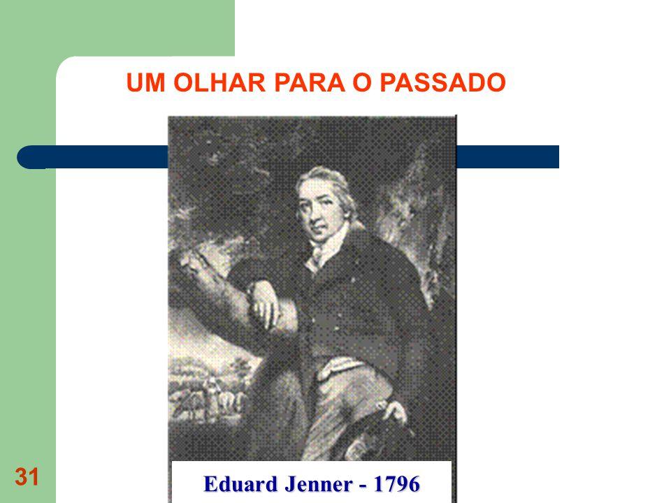 31 Eduard Jenner - 1796 UM OLHAR PARA O PASSADO