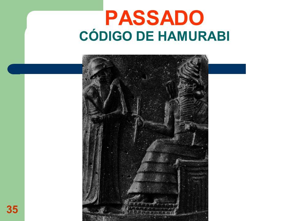 35 PASSADO CÓDIGO DE HAMURABI