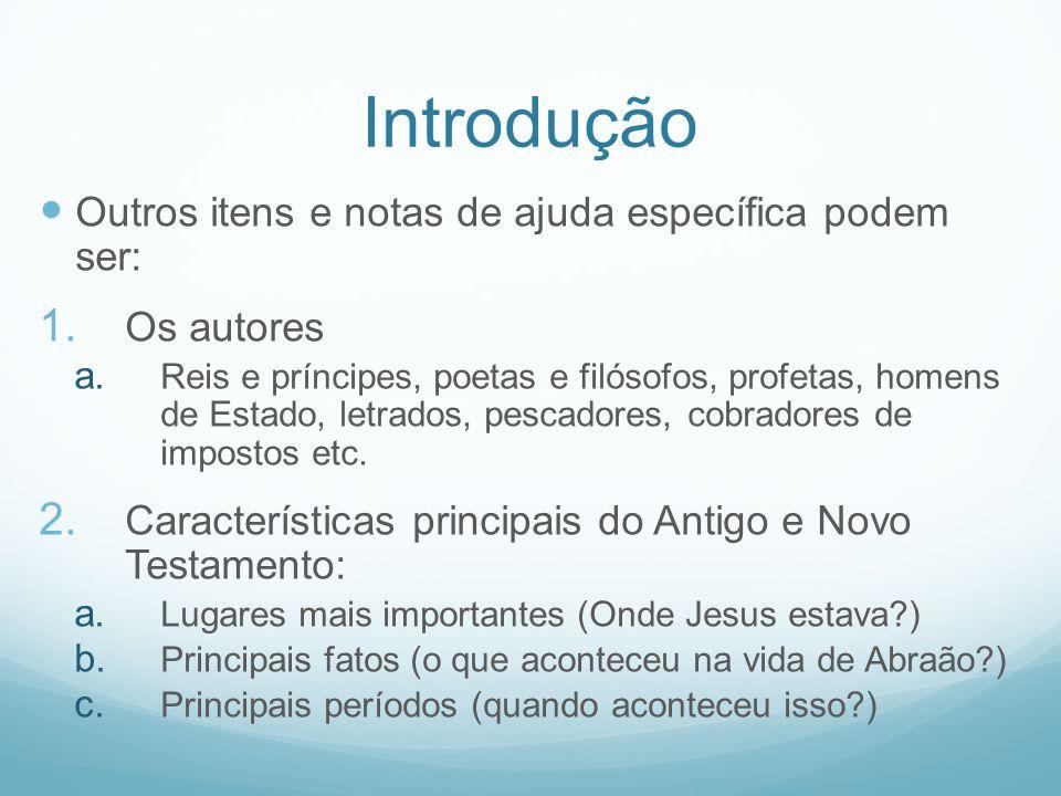 Introdução 3.A Biblia a. A Bíblia conta apenas uma história, que é a de Jesus Cristo.