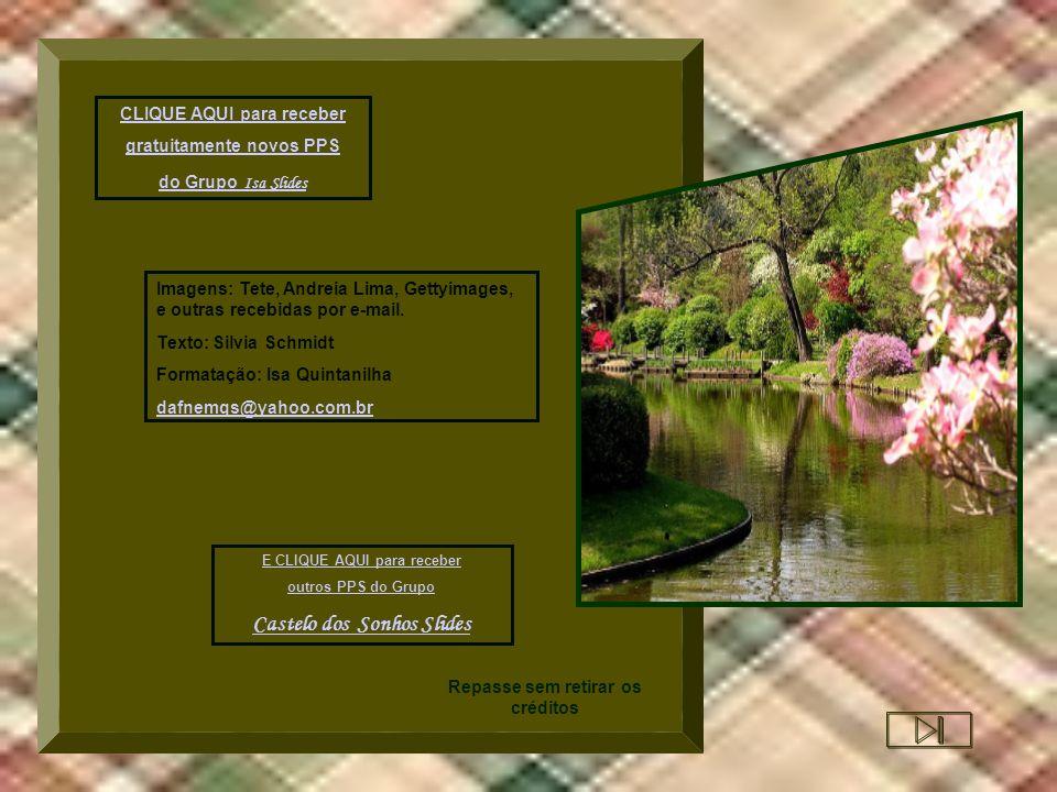 CLIQUE AQUI para receber gratuitamente novos PPS do Grupo I sa Slides Imagens: Tete, Andreia Lima, Gettyimages, e outras recebidas por e-mail.