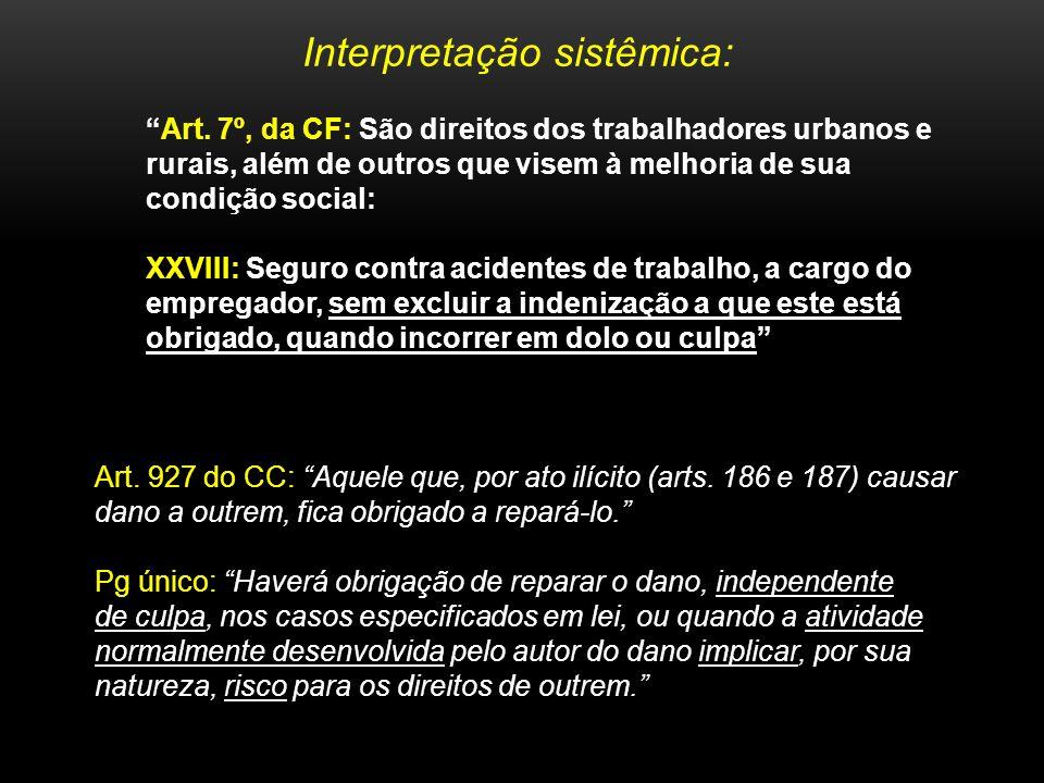 É INCONSTITUCIONAL O ART.927, PG ÚNICO, DO CC/02 POR CONFLITAR COM O ART.