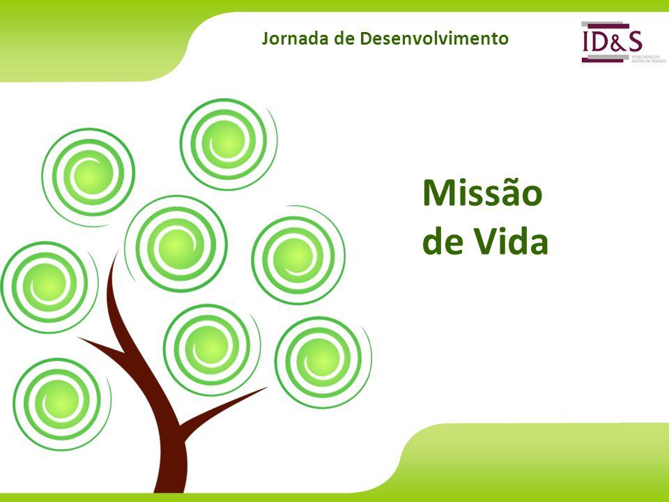 Jornada de Desenvolvimento Missão de Vida