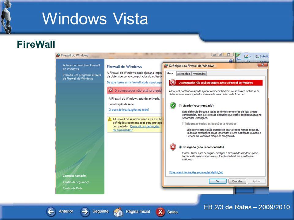 EB 2/3 de Rates – 2009/2010 Windows Vista