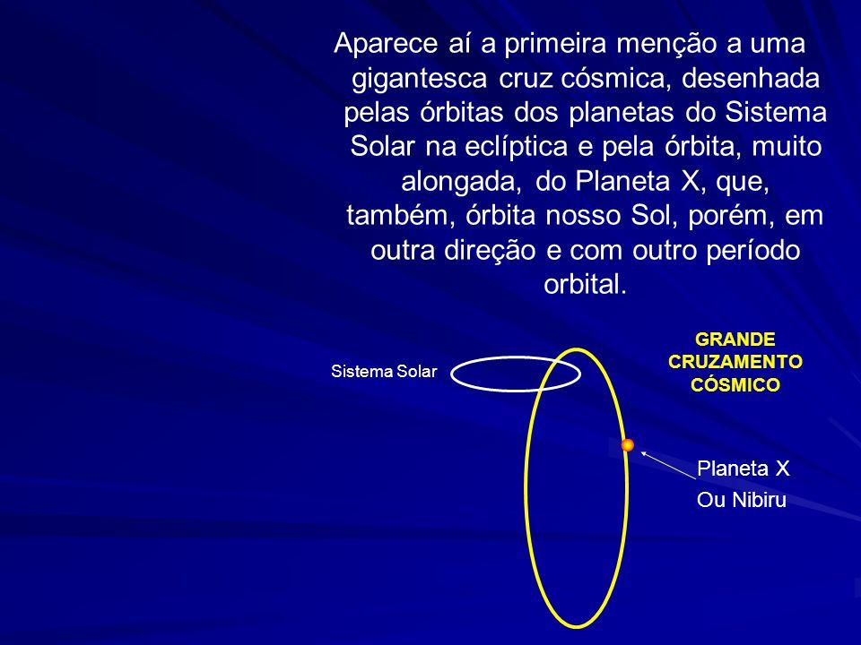 Já tivemos conhecimento da chegada do Planeta X com a magistral obra de Zecharias Sitchin: O 12° PLANETA; nela, se conta a história de um astro intrus