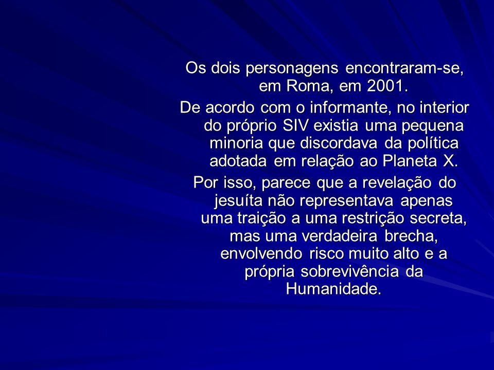Mais recentemente, no ano 2000, tive conhecimento de um trabalho do jornalista free lance Cristoforo Barbato. Esse jornalista recebeu algumas notáveis