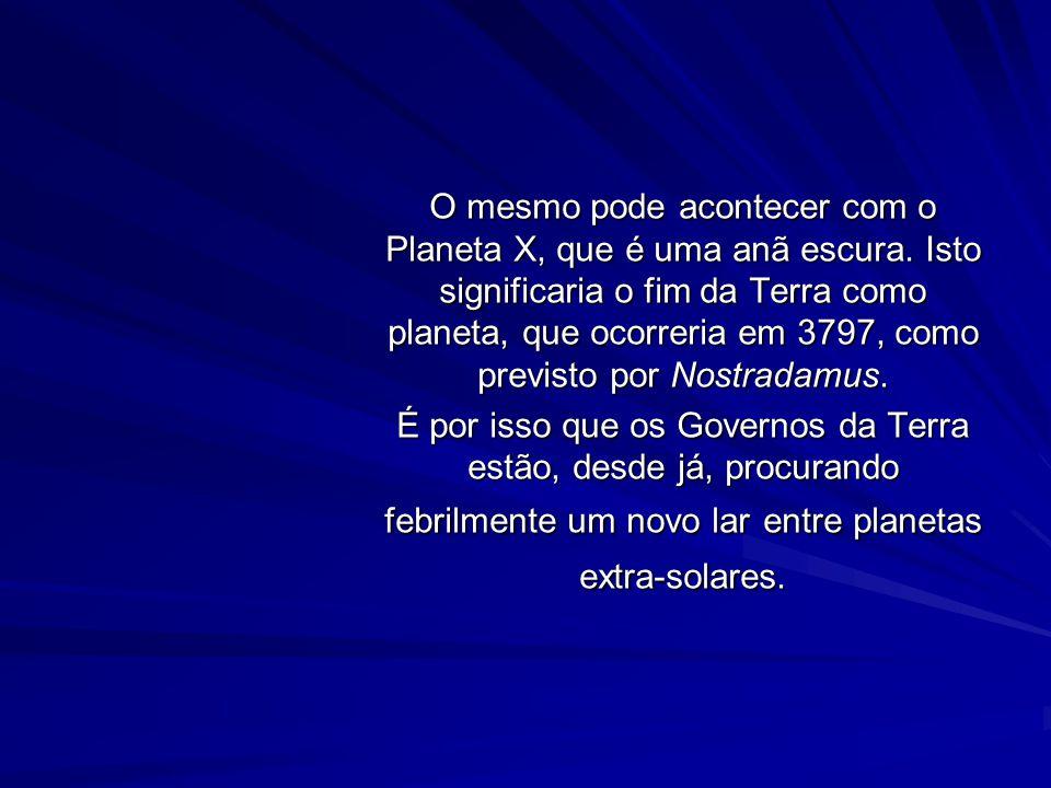 O PLANETA X E O MECANISMO KOZAI O MECANISMO KOZAI explica o que acontece a objetos que possuem órbitas quase perpendiculares à eclíptica. Um bom exemp