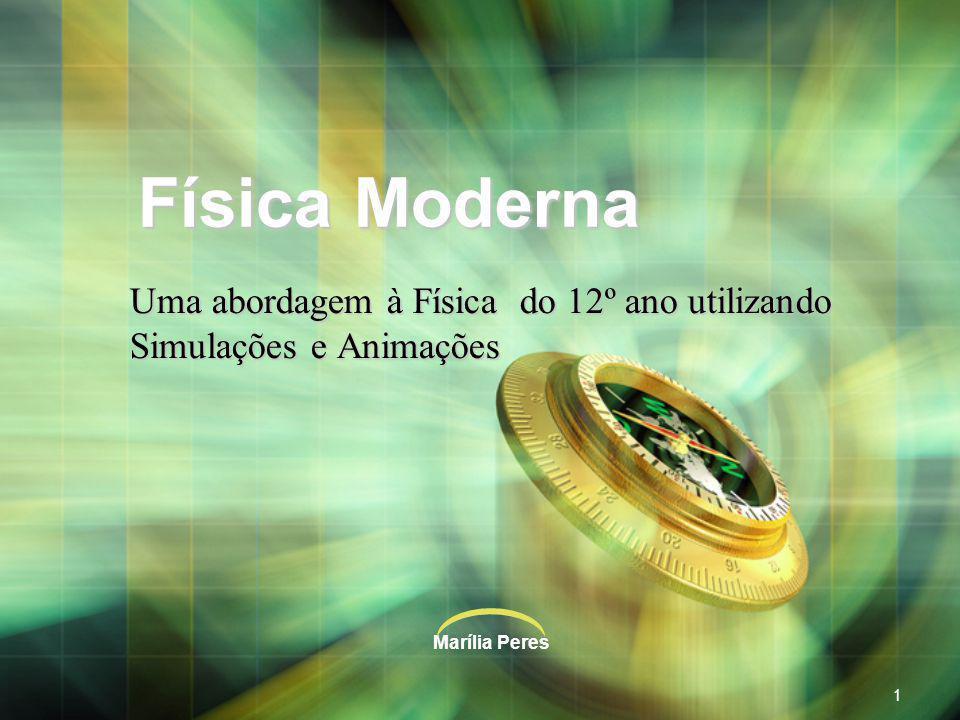 Marília Peres2 Programa de Física de 12.º ano UNIDADE III FÍSICA MODERNA 1.