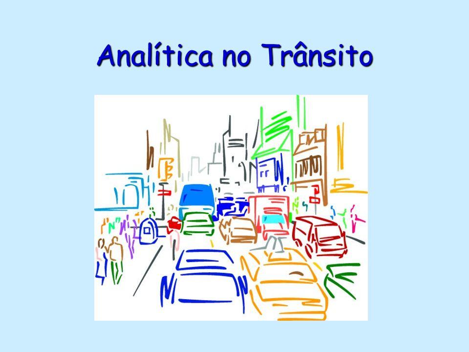 Analítica no Trânsito