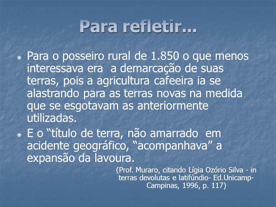 1979 – Regularizações fundiárias.1979 – Regularizações fundiárias.