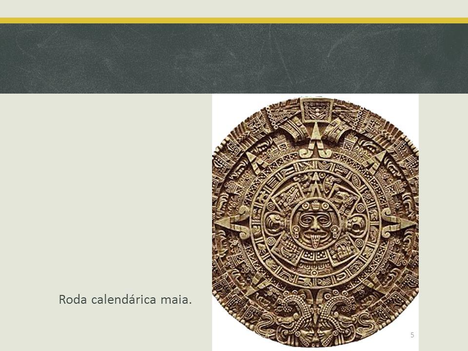 Roda calendárica maia. 5