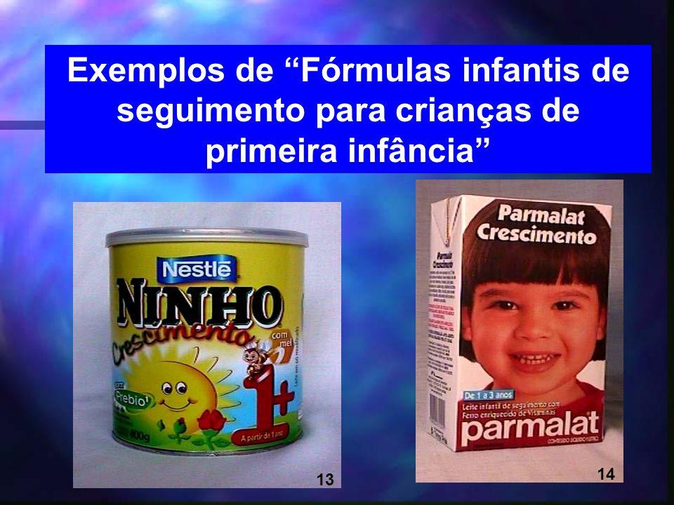 16 Exemplos de Fórmulas infantis de seguimento para crianças de primeira infância 13 14