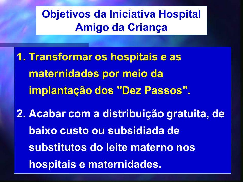 42 1.Transformar os hospitais e as maternidades por meio da implantação dos
