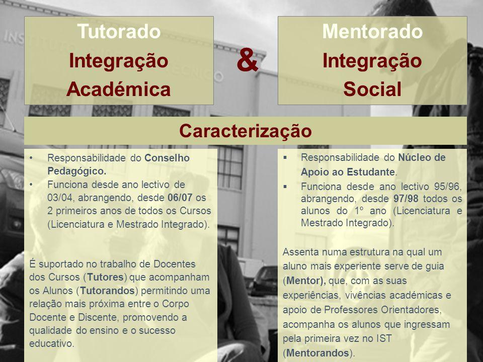 & Responsabilidade do Conselho Pedagógico. Funciona desde ano lectivode 03/04, abrangendo, desde 06/07 os 2 primeiros anos de todos os Cursos (Licenci