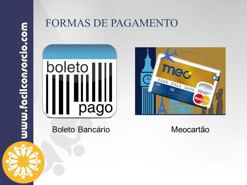 Meocartão FORMAS DE PAGAMENTO Boleto Bancário