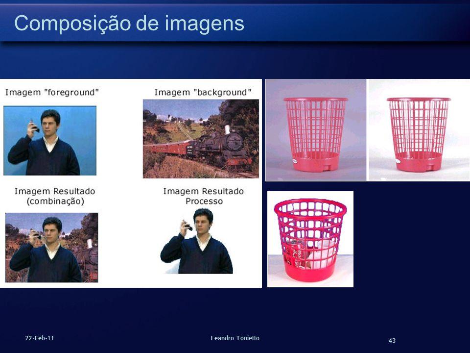 43 22-Feb-11Leandro Tonietto Composição de imagens