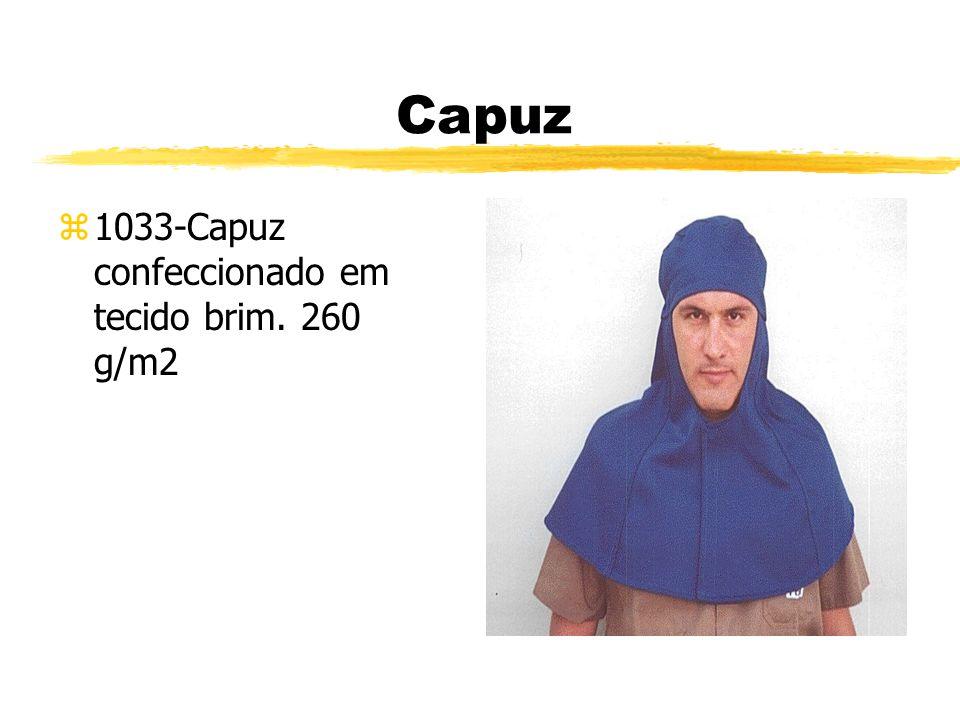 Capuz z1033-Capuz confeccionado em tecido brim. 260 g/m2