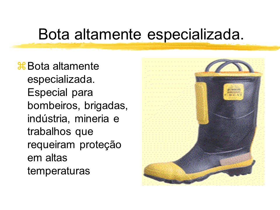 Bota altamente especializada.zBota altamente especializada.