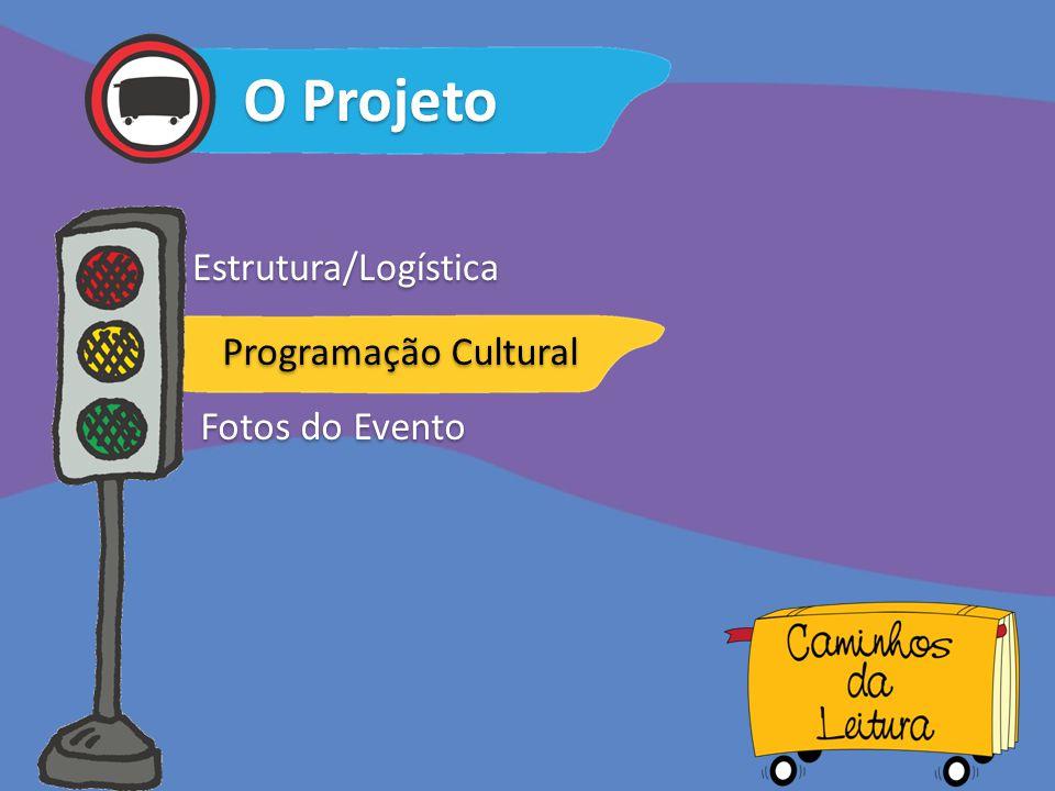 O Projeto Estrutura/Logística Programação Cultural Fotos do Evento